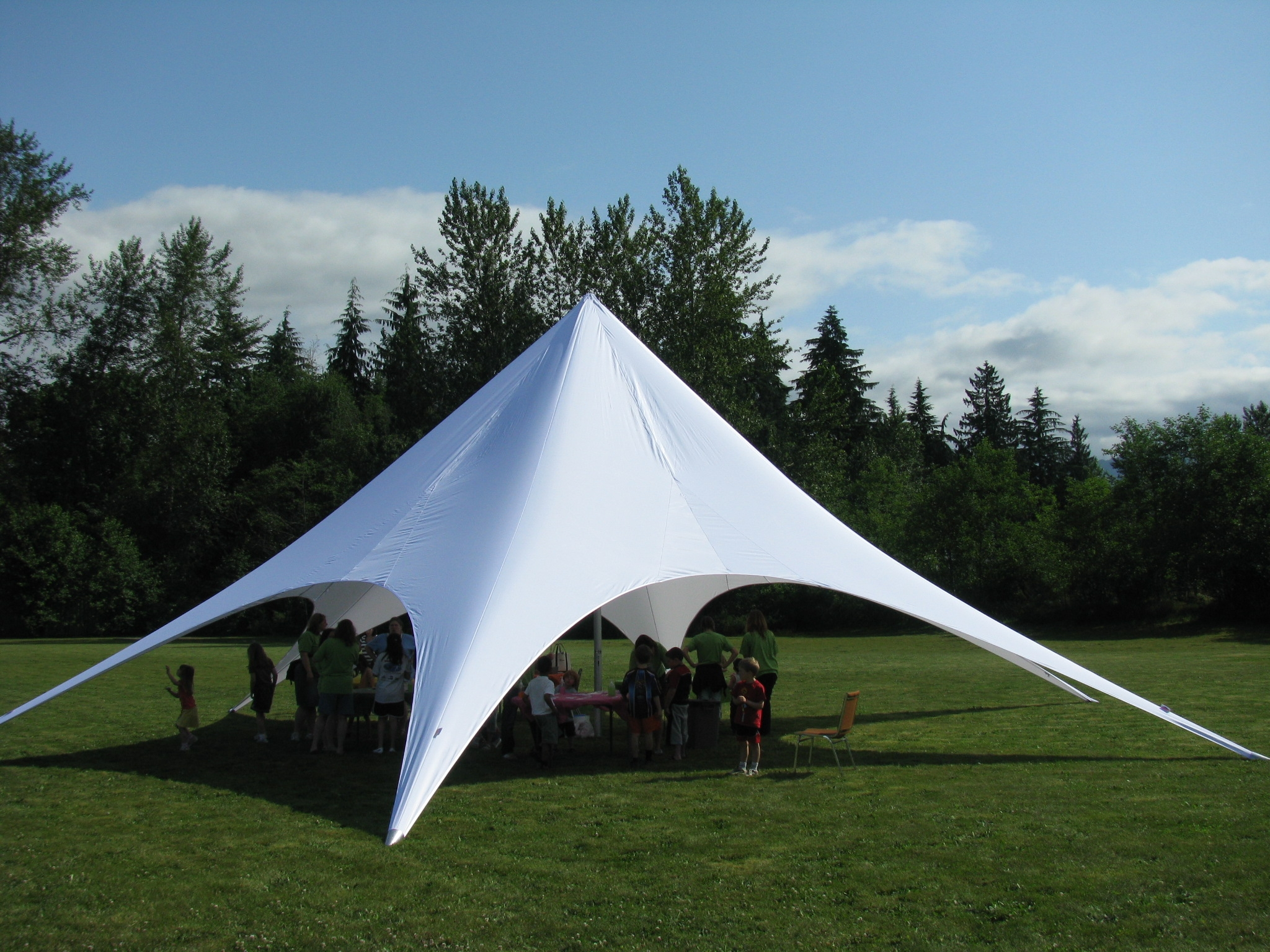 make a statement the starshade canopy tent. Black Bedroom Furniture Sets. Home Design Ideas