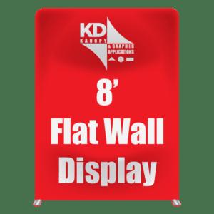 8' Flat Wall Display