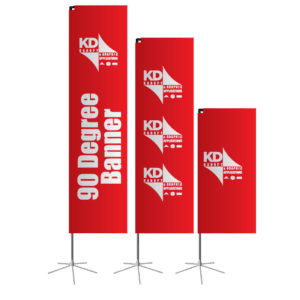 90 Degree Banner