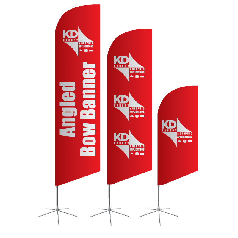 Angled Bow Banner