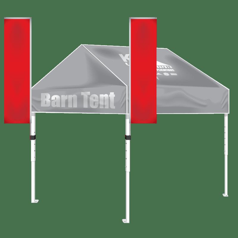Steel 10′ x 10′ Barn Tent