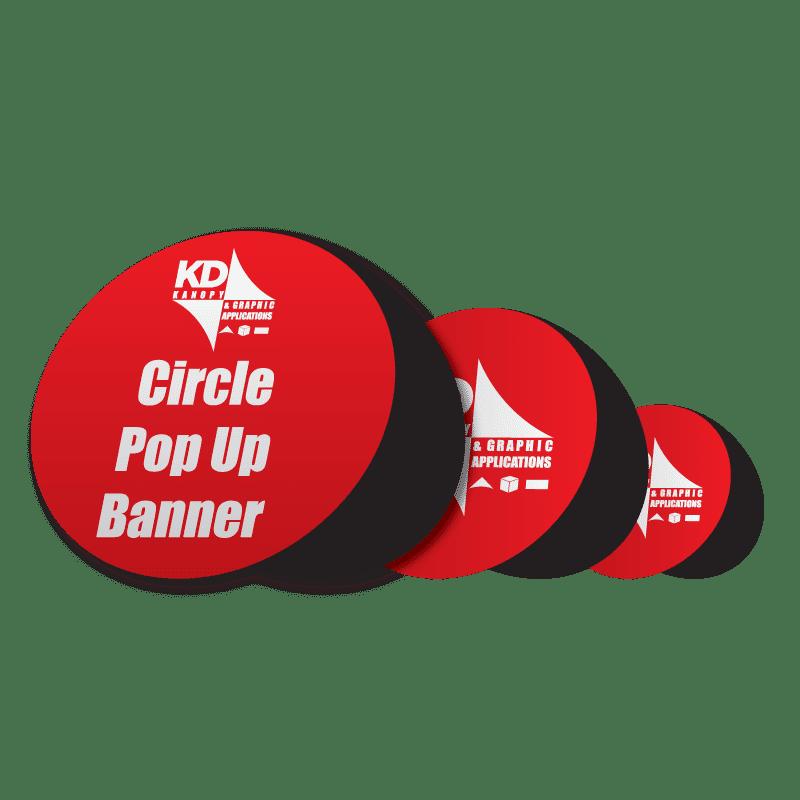 Circle Pop Up Banner