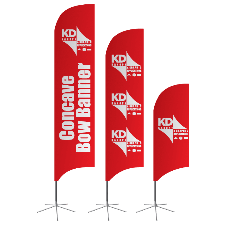 Concave Bow Banner