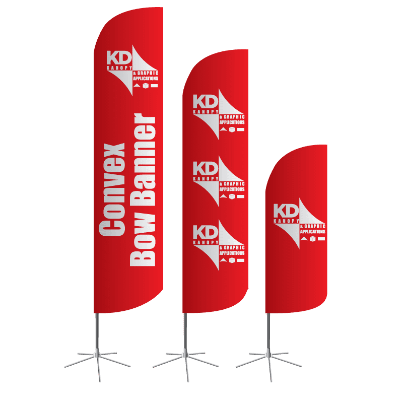 Convex Bow Banner