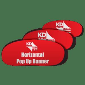 Horizontal Pop Up Banner