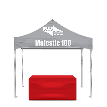 custom tents and table covers