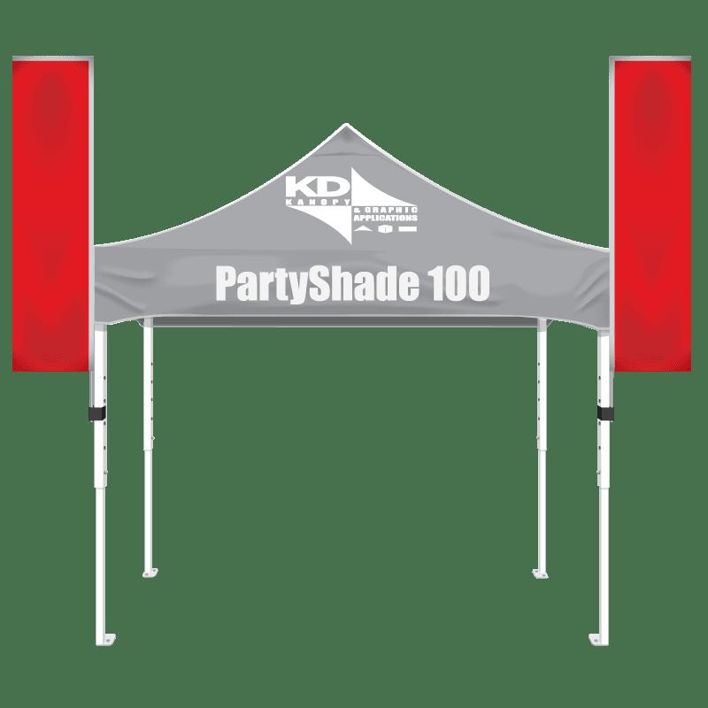 Steel 10′ x 10′ White
