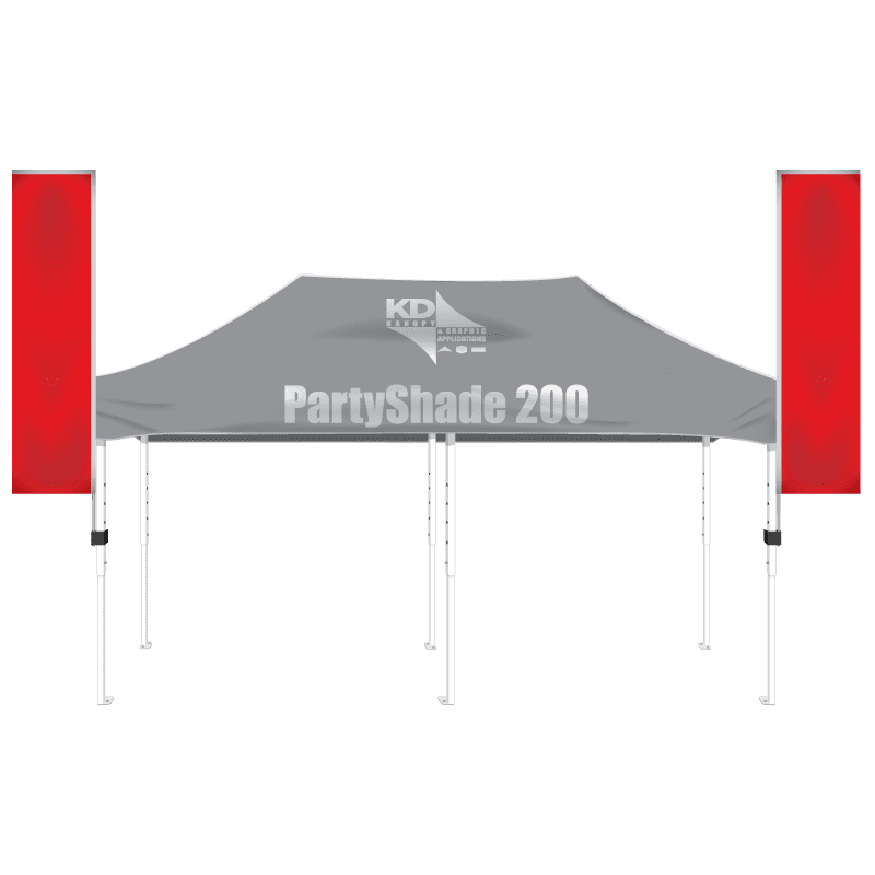 Steel 10' x 20' - KD Kanopy - Custom Canopies, Tents