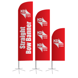 Straight Bow Banner
