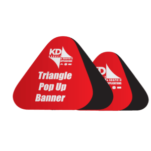 Triangle Pop Up Banner