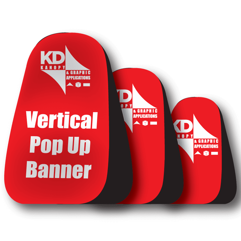 Vertical Pop Up Banner