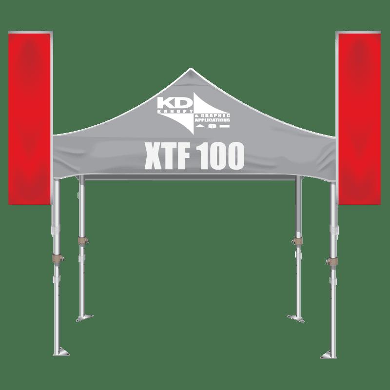 Aluminum Hex Frame 10′ x 10′